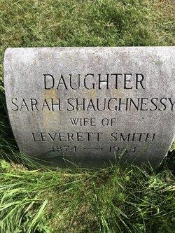 Sarah <I>Shaughnessy</I> Smith