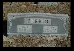 """John Kustaa """"Juho"""" Berkio"""