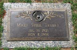 Mary Sybil <I>Clack</I> Trubey