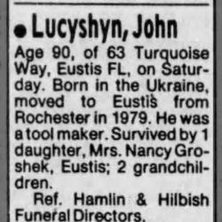 John Lucyshyn