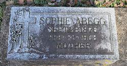 Sophie <I>Schlesinger</I> Abegg