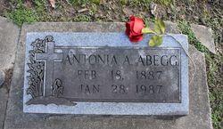Antonia A <I>Weihrauch</I> Abegg
