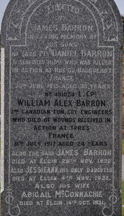 LCPL William Alexander Barron