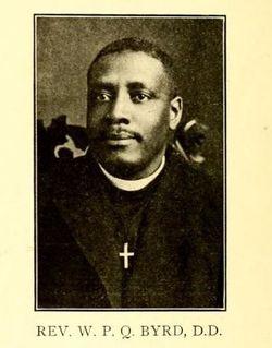 Rev William Paul Quinn Byrd