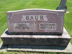 """Kathryn """"Katherine"""" <I>Lieffering</I> Baur"""