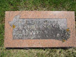 Esther Kathryn Baur