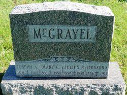 Mary Catherine <I>Chomel</I> McGrayel