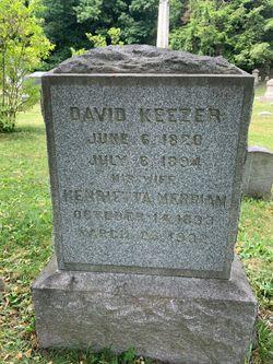 Henrietta C <I>Merriam</I> Keezer