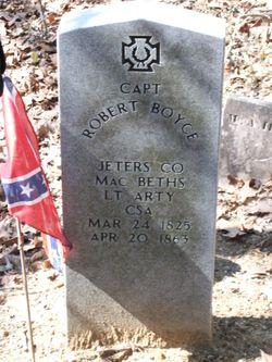 Capt Robert Boyce