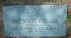 "Rose ""Rosie"" <I>Shalek</I> Grossman"