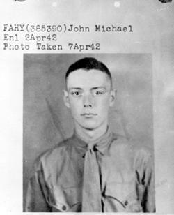 PFC John Michael Fahy