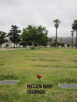 "Helen Ray ""Bibsy"" <I>Bierce</I> Isgrigg"