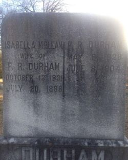 Isabella <I>McLean</I> Durham