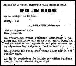 Derk Jan Bulsink