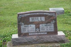 May Elizabeth <I>Scroggins</I> Hill