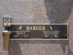 """Patricia May """"Patty"""" <I>Withers</I> Barger"""
