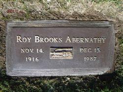 Roy Brooks Abernathy