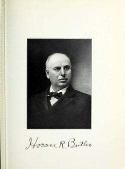 Horace R Butler