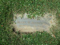 Mary Bertha <I>Richards</I> Arneson