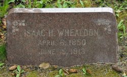 Isaac H Whealdon