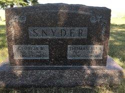 Thomas Alva Snyder