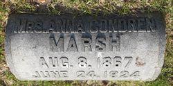 Anna <I>Condren</I> Marsh