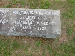 Mary Hedges <I>Blauvelt</I> Veghte