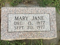 Mary Jane <I>Fairbrother</I> Griswold