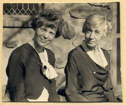 """Amelia """"Amy"""" <I>Otis</I> Earhart"""