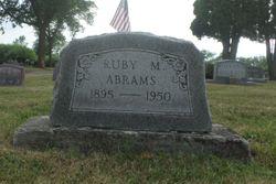 Ruby M Abrams
