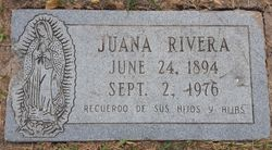 "Juana ""Juanita"" <I>Euresti</I> Rivera"