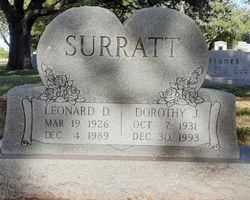 Dorothy J Surratt