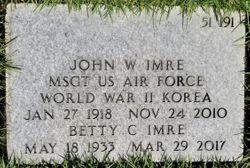 John Webb Imre