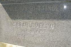 Sarah Evelyn Bettinger