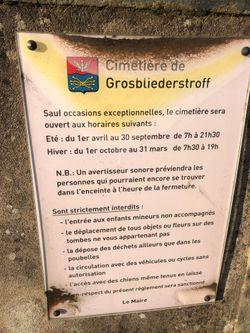 Cimetière de Grosbliederstroff