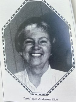Carol Joyce <I>Anderson</I> Ride