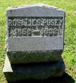 "Rosalie ""Rose"" <I>Sickels</I> Pusey"