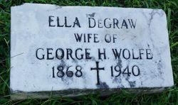 Ella <I>DeGraw</I> Wolfe