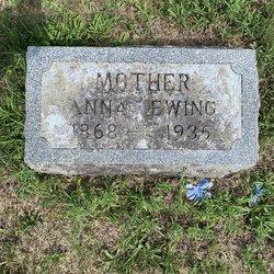 Anna <I>Boyne</I> Ewing