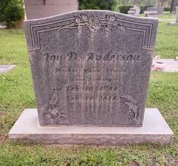 Joy D Anderson