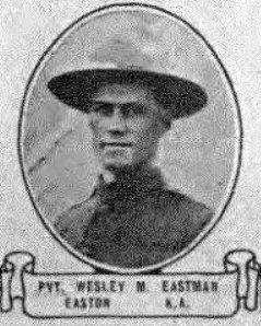 PVT Wesley McClellan Eastman
