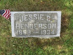 Jessie Belle <I>Borthwick</I> Henderson
