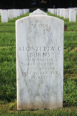 Alonzetta C Burns