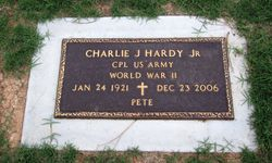 "Charles James ""Pete"" Hardy Jr."