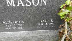 "Abigail Overton ""Gail"" <I>Kramer</I> Mason"