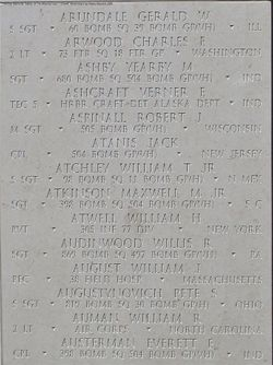 SSgt William T Atchley Jr.
