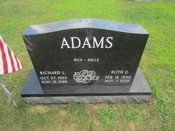 """Ruth E. """"Dolly"""" <I>Adams</I> Adams"""