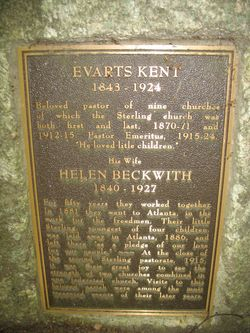 Rev Evarts Kent