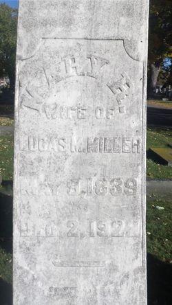 Mary E <I>Reeve</I> Miller