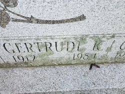 Gertrude K. Hodgson